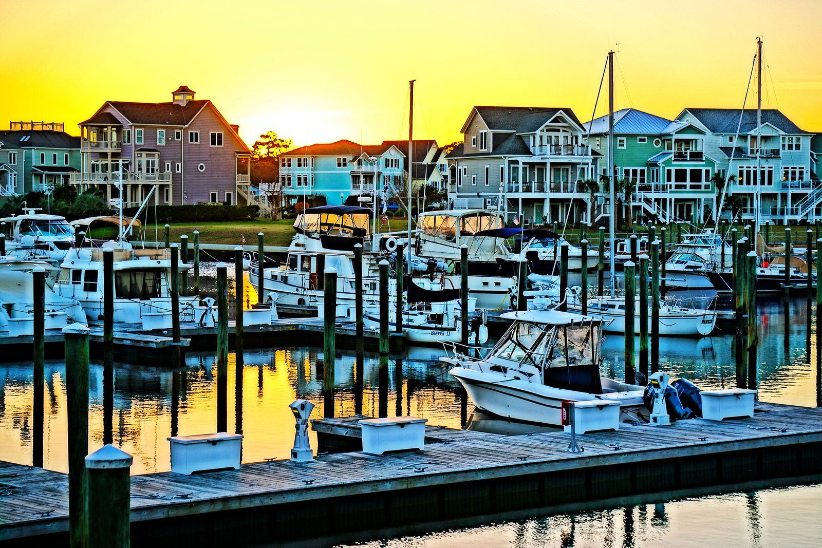 St. James Marina Sunset