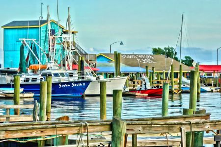 Fishy Fish Harbor View